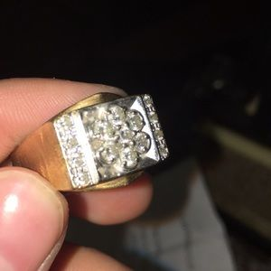 Men's and woman Real 1.75 diamond ring